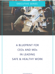CEO Cheatsheet - Blueprint for Leading Safe and Healthy Work